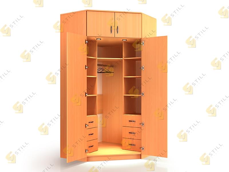 Угловой шкаф Стиль У-13Л эконом
