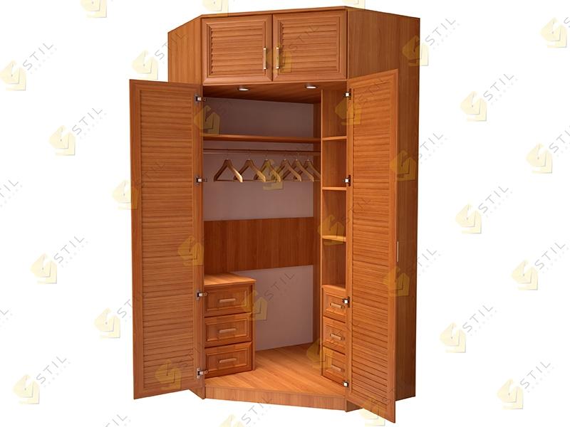 Угловой шкаф Стиль У-14Ж Премиум