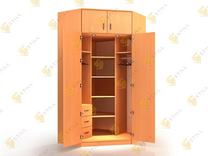 Угловой шкаф Стиль У-15Л эконом
