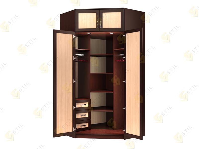 Угловой шкаф Стиль У-15М эконом