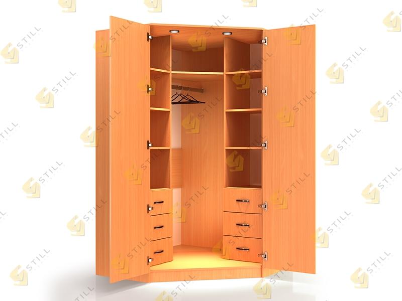 Угловой шкаф Стиль У-3Л эконом
