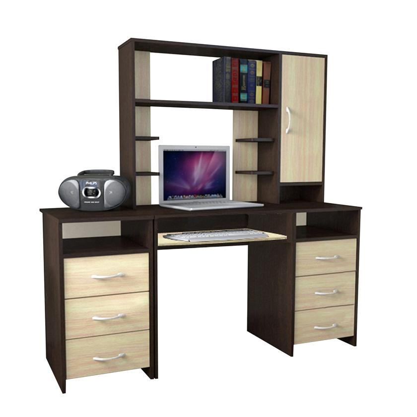 Письменный стол 11 с надстройкой