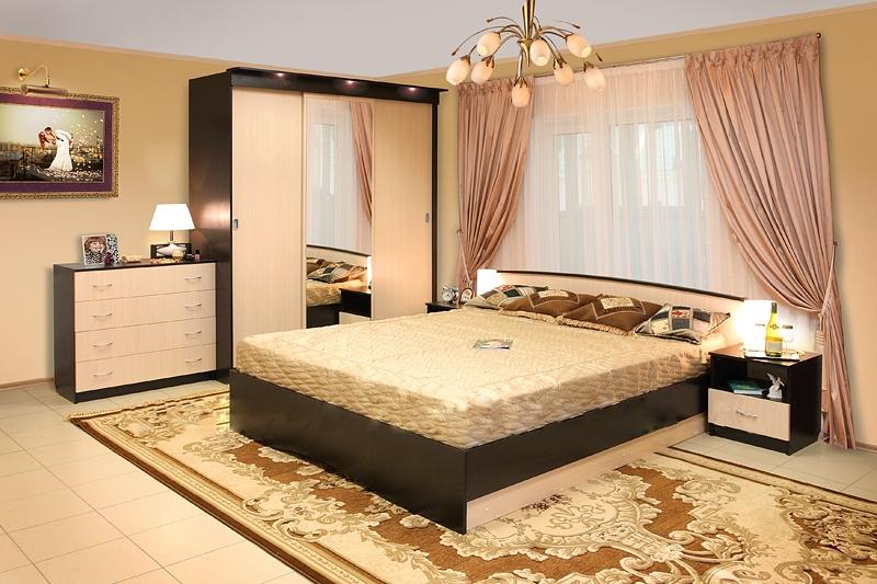 Модульная спальня Светлана-24