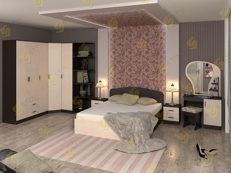 Модульная спальня Тавла 10Л