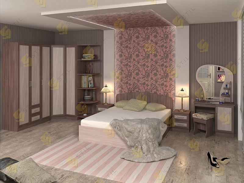 Модульная спальня Тавла 10М