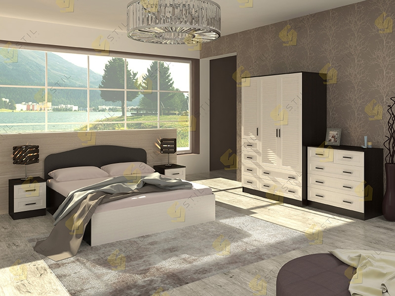 Модульная спальня Тавла 11Ж