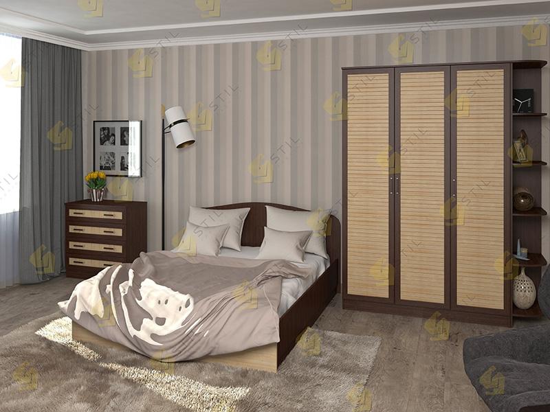 Модульная спальня Тавла 15Р