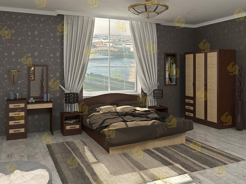 Модульная спальня Тавла 18Р