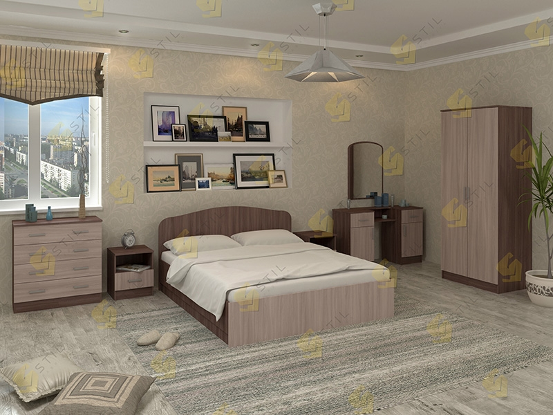 Модульная спальня Тавла 19Л
