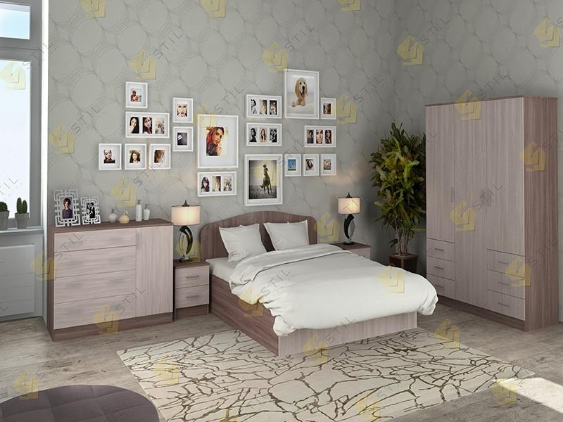 Модульная спальня Тавла 1Л