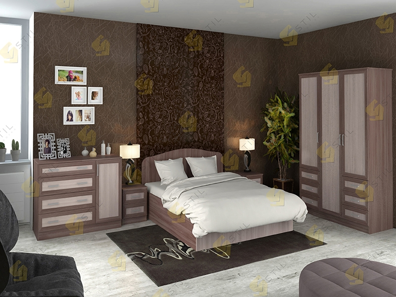Модульная спальня Тавла 1М