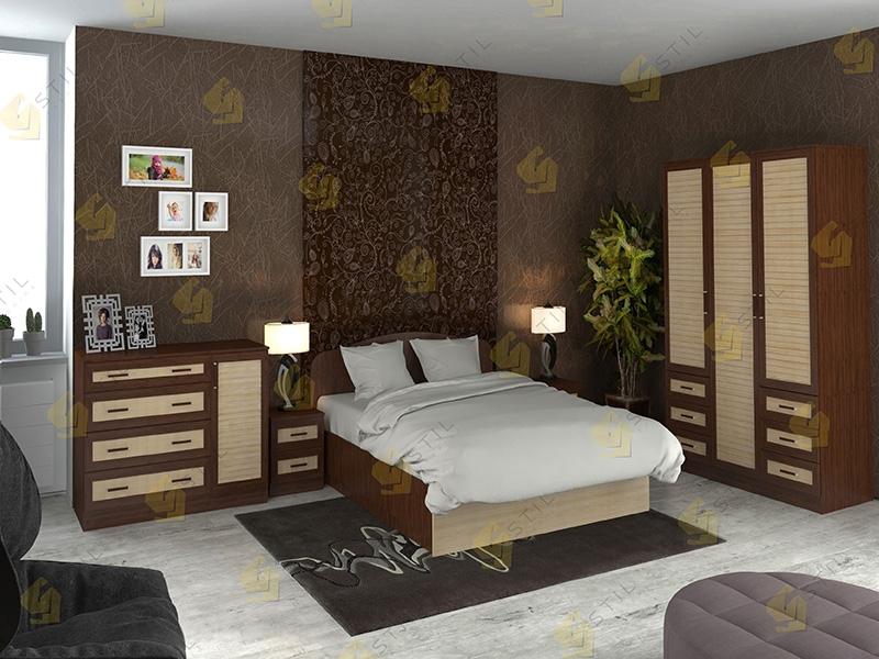 Модульная спальня Тавла 1Р