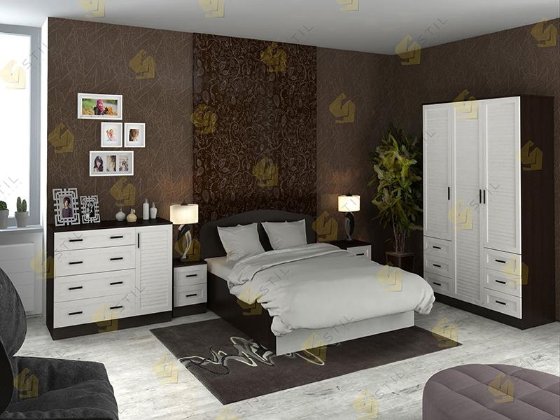 Модульная спальня Тавла 1Ж