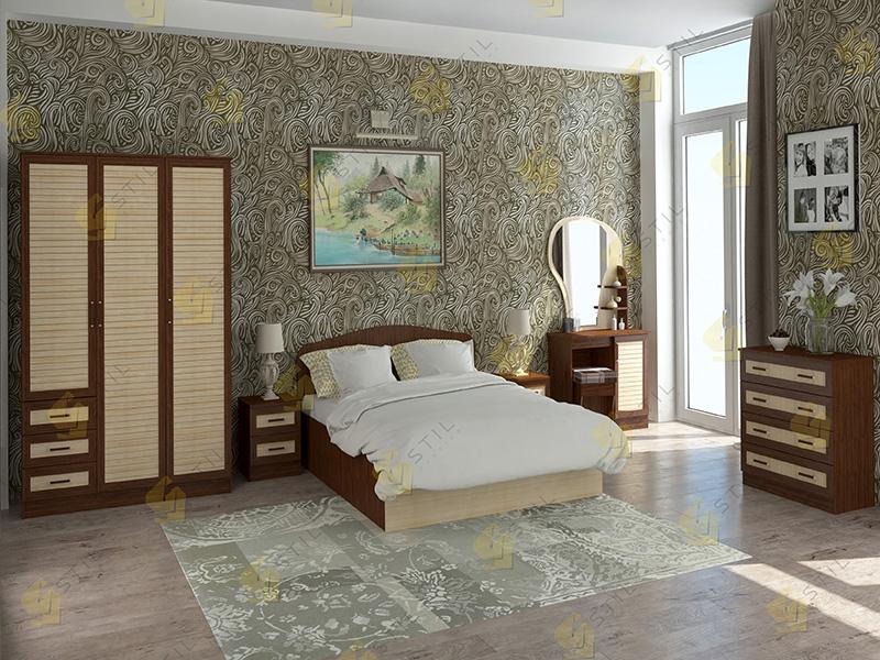 Модульная спальня Тавла 2Р