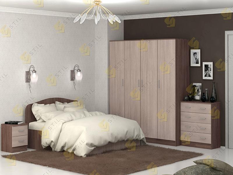 Модульная спальня Тавла 4Л