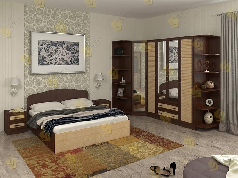 Модульная спальня Тавла 7Р