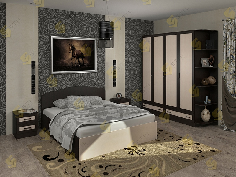 Модульная спальня Тавла 8М