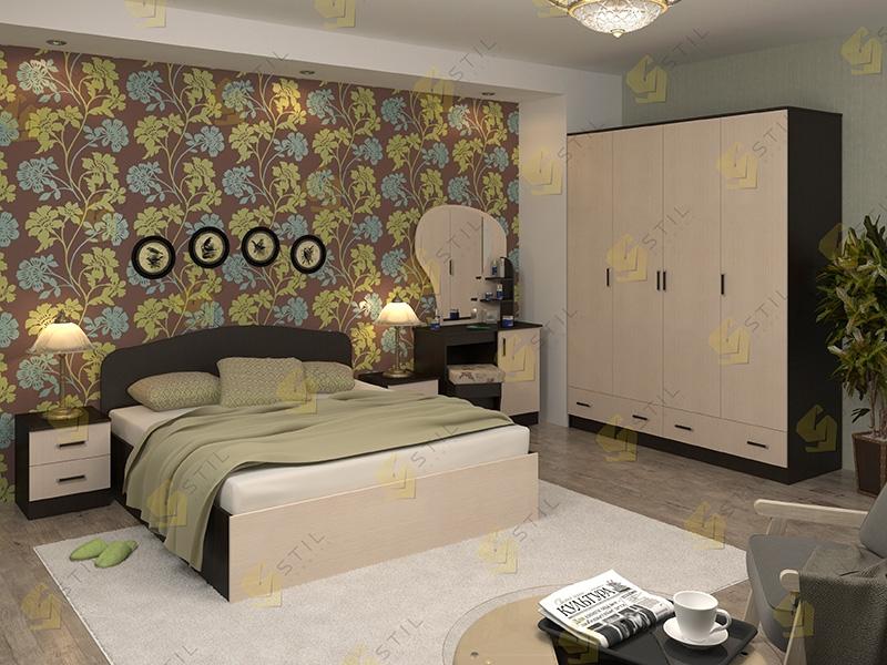 Модульная спальня Тавла 9Л