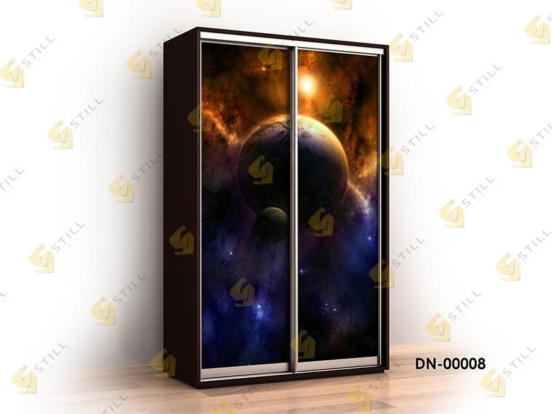 Шкаф-купе с фотопечатью Титан Ф