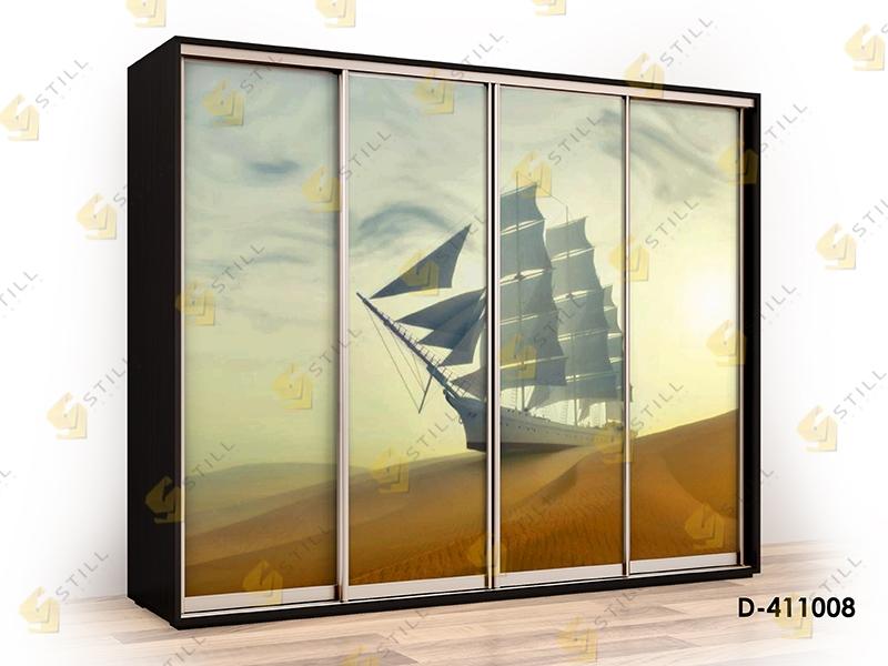 Шкаф-купе с фотопечатью Титан-Ф