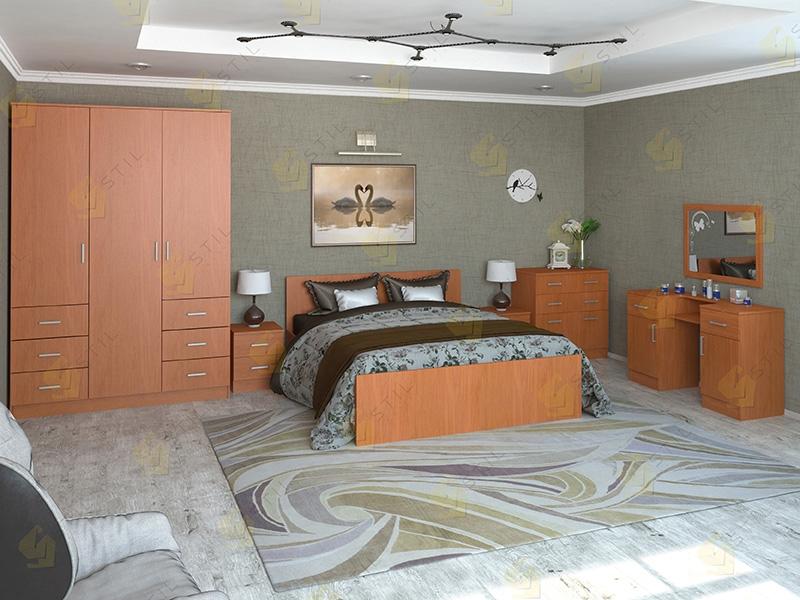 Недорогая спальня Валерия-12