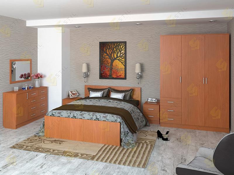 Недорогая спальня Валерия-14