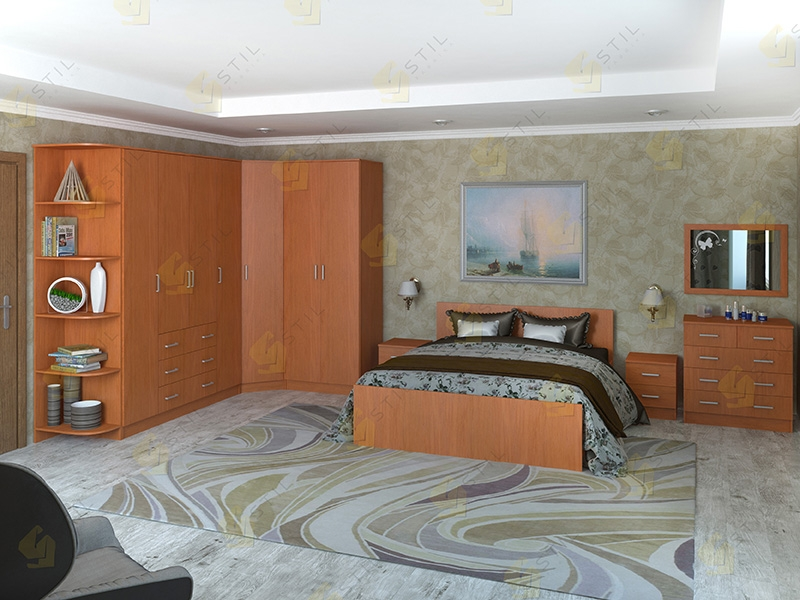 Недорогая спальня Валерия-15