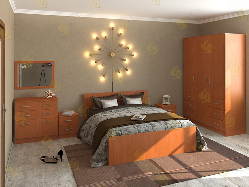 Недорогая спальня Валерия-4