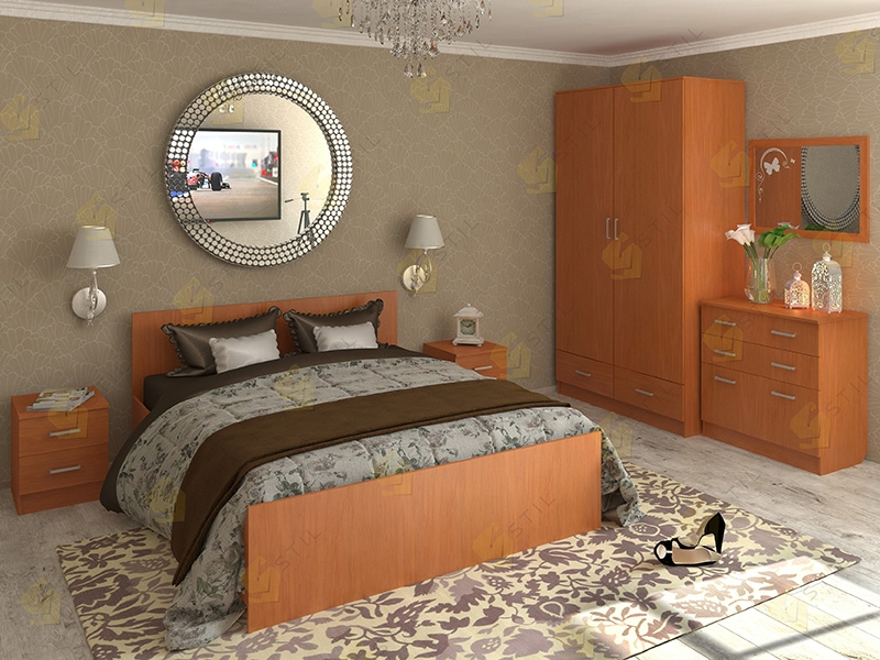 Недорогая спальня Валерия-7