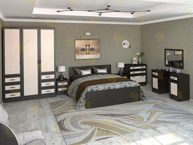 Недорогая спальня Валерия 12М