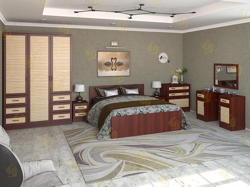 Недорогая спальня Валерия 12Р