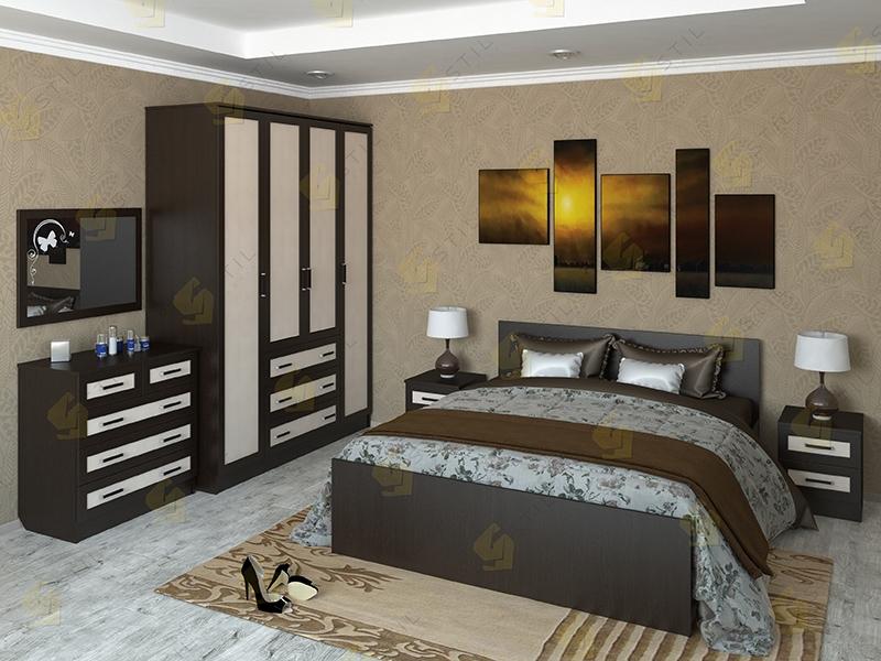 Недорогая спальня Валерия 13М