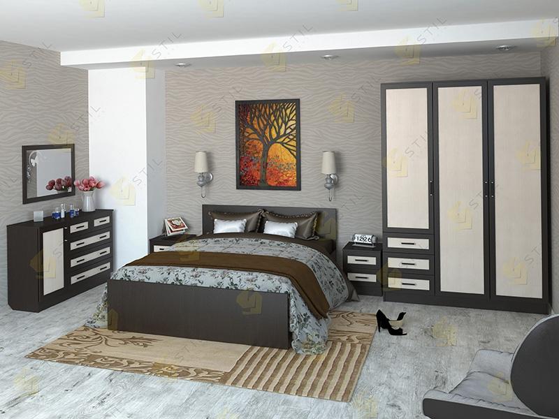 Недорогая спальня Валерия 14М