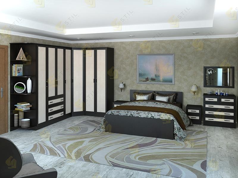 Недорогая спальня Валерия 15М