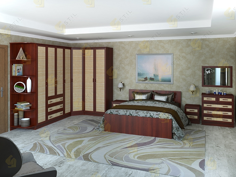 Недорогая спальня Валерия 15Р