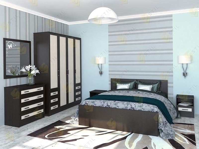 Недорогая спальня Валерия 1М
