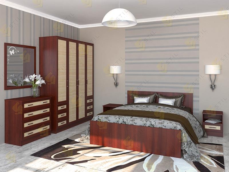 Недорогая спальня Валерия 1Р