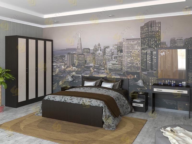 Недорогая спальня Валерия 2М