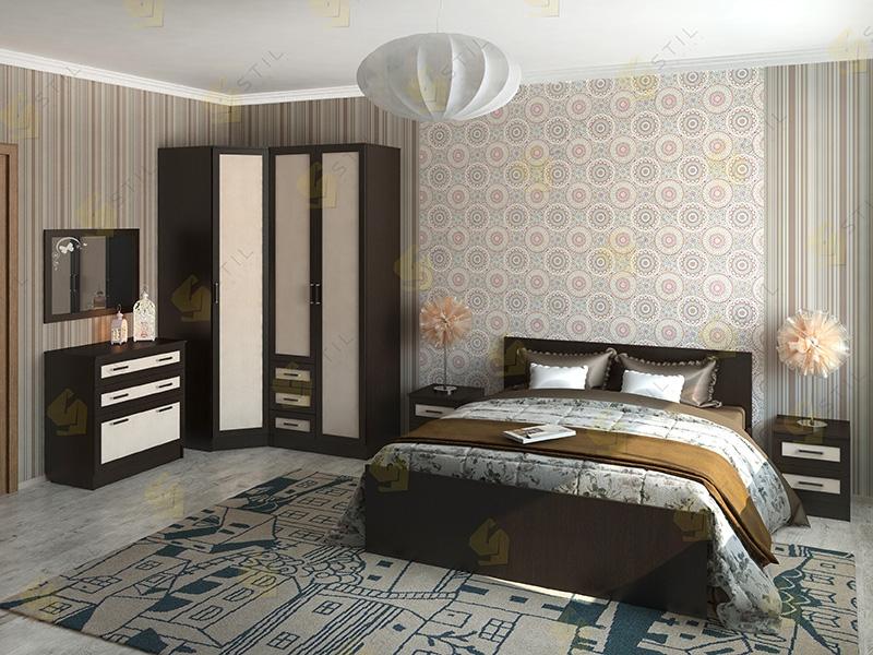 Недорогая спальня Валерия 3М
