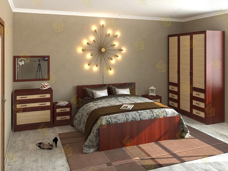 Недорогая спальня Валерия 4Р