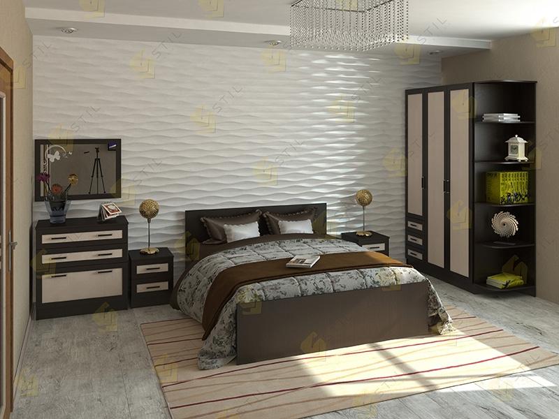 Недорогая спальня Валерия 5М