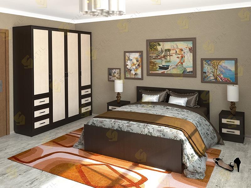 Недорогая спальня Валерия 6М
