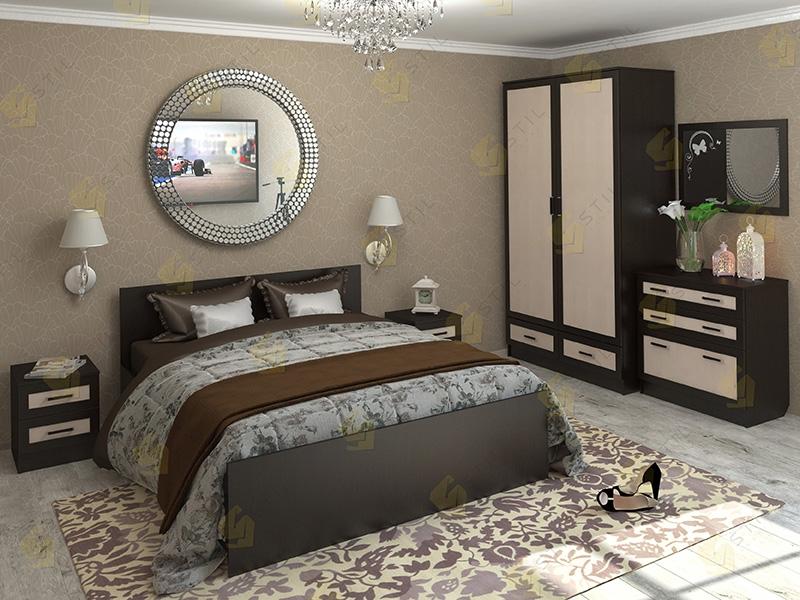 Недорогая спальня Валерия 7М