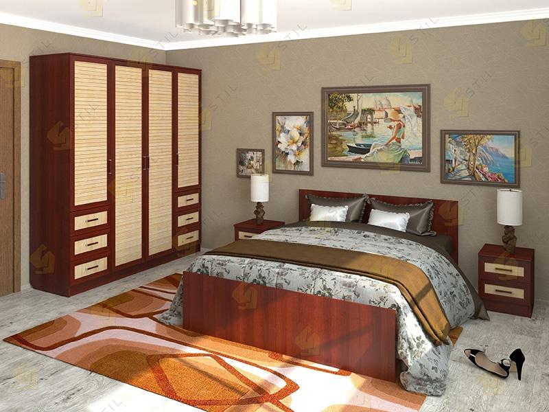 Недорогая спальня Валерия 6Р