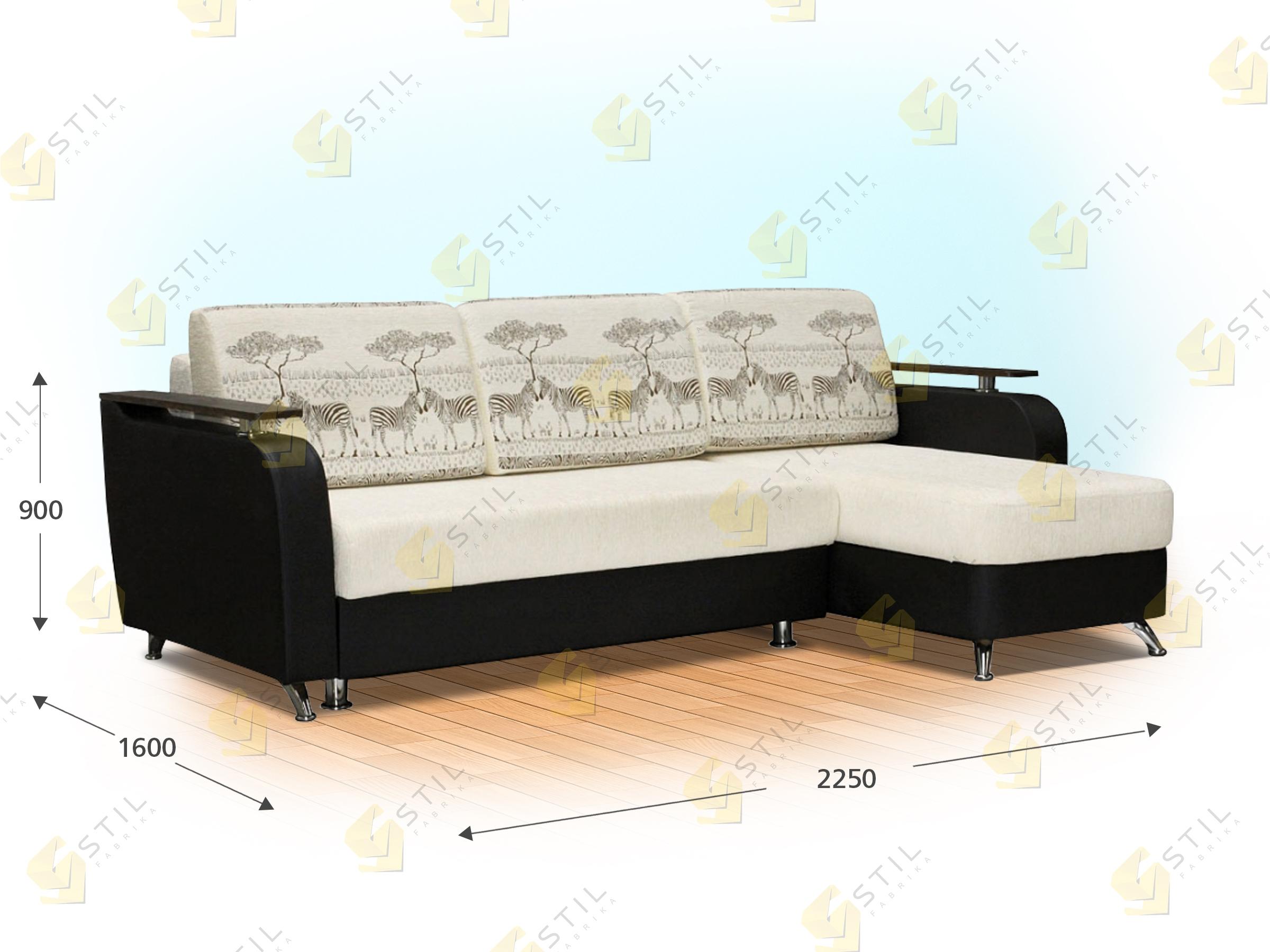Угловой диван Ведель