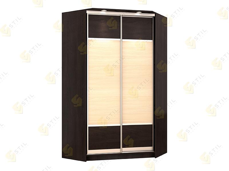 Угловой шкаф-купе Версаль-К3 эконом