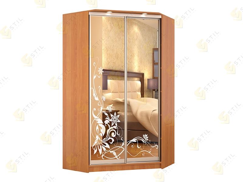 Купить угловой шкаф-купе с зеркалами версаль-к4 от производи.
