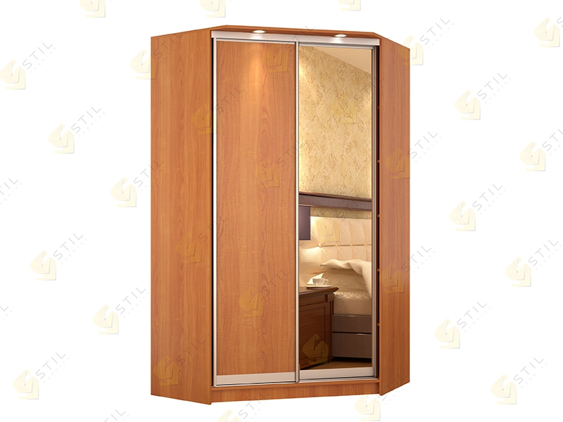 Угловой шкаф-купе Версаль-К2 эконом