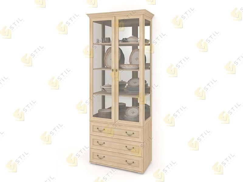 Шкаф для посуды Витраж 2С