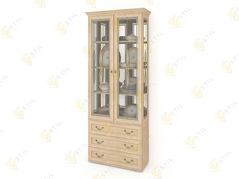 Шкаф для посуды Витраж 2В